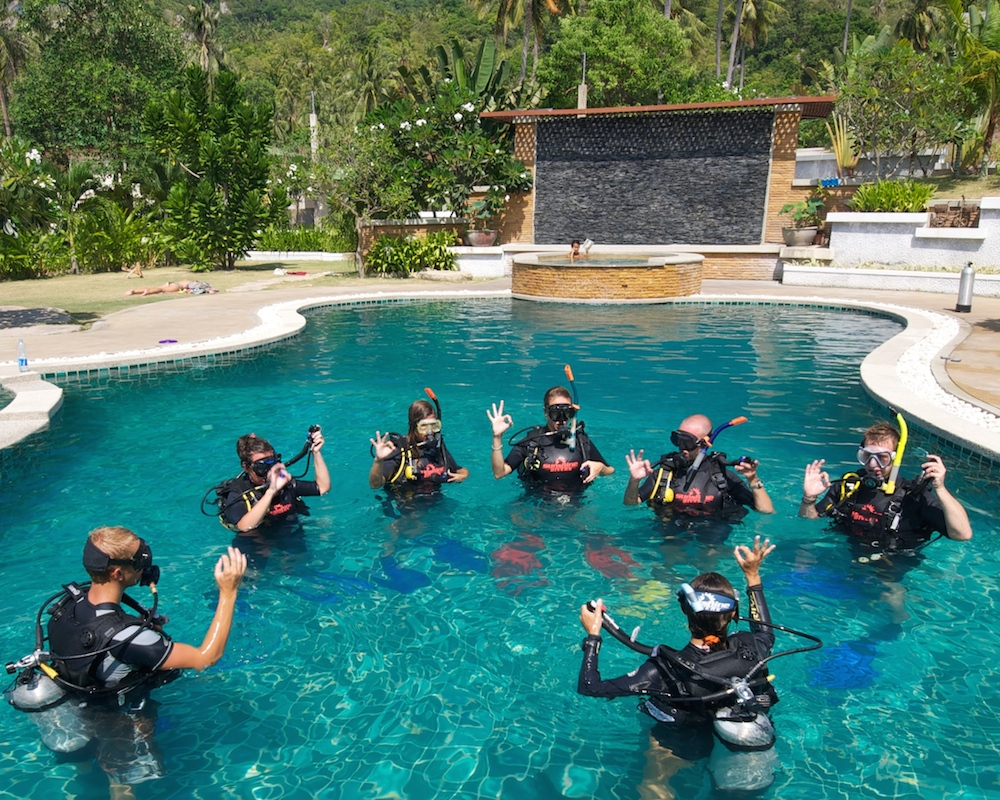 PADI Open Water Confined Session