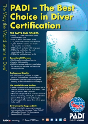 NEW PADI Discover Scuba Diving Experience....